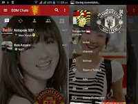 Download BBM Manchester United Change Background For Android