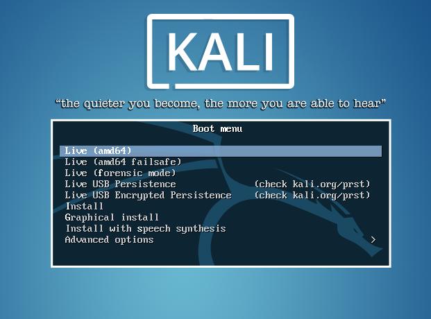 tutorial instalasi kali linux