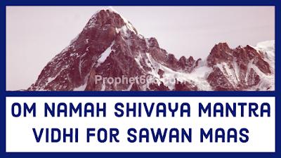 Correct and Recommended Om Namah Shivaya Mantra Vidhi for Sawan Maas