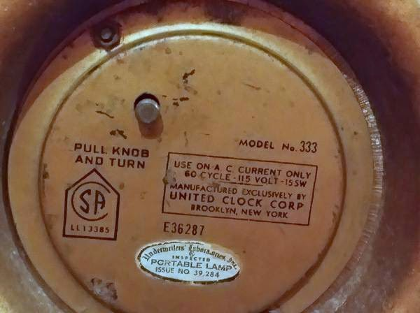 United Clock Corp Model 333 - OKC Craigslist garage sales