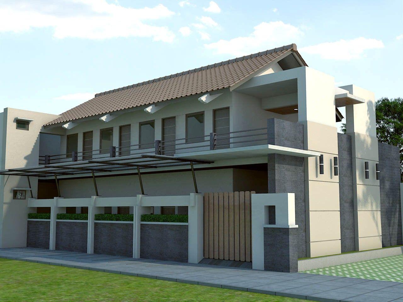 Rancangan Rumah Kontrakan Modern Banyak Disukai