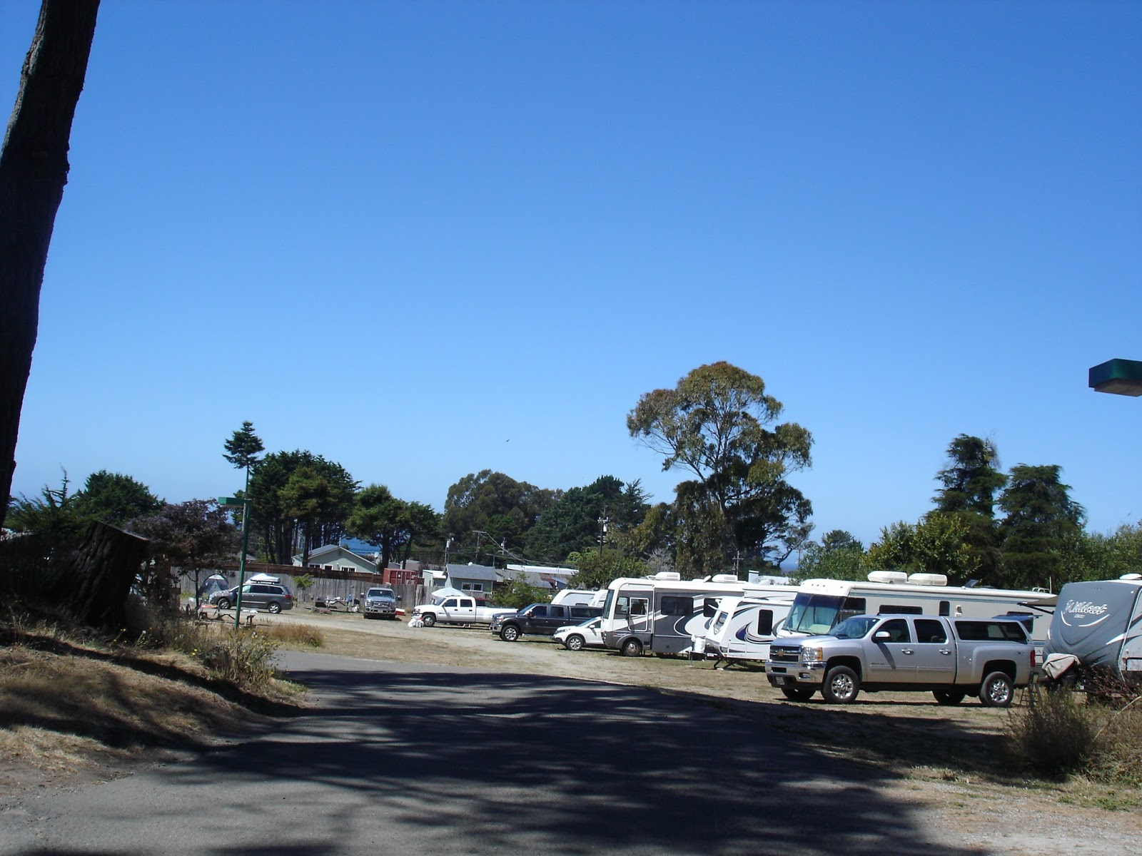 Hidden Pines RV Campground - Fort Bragg California