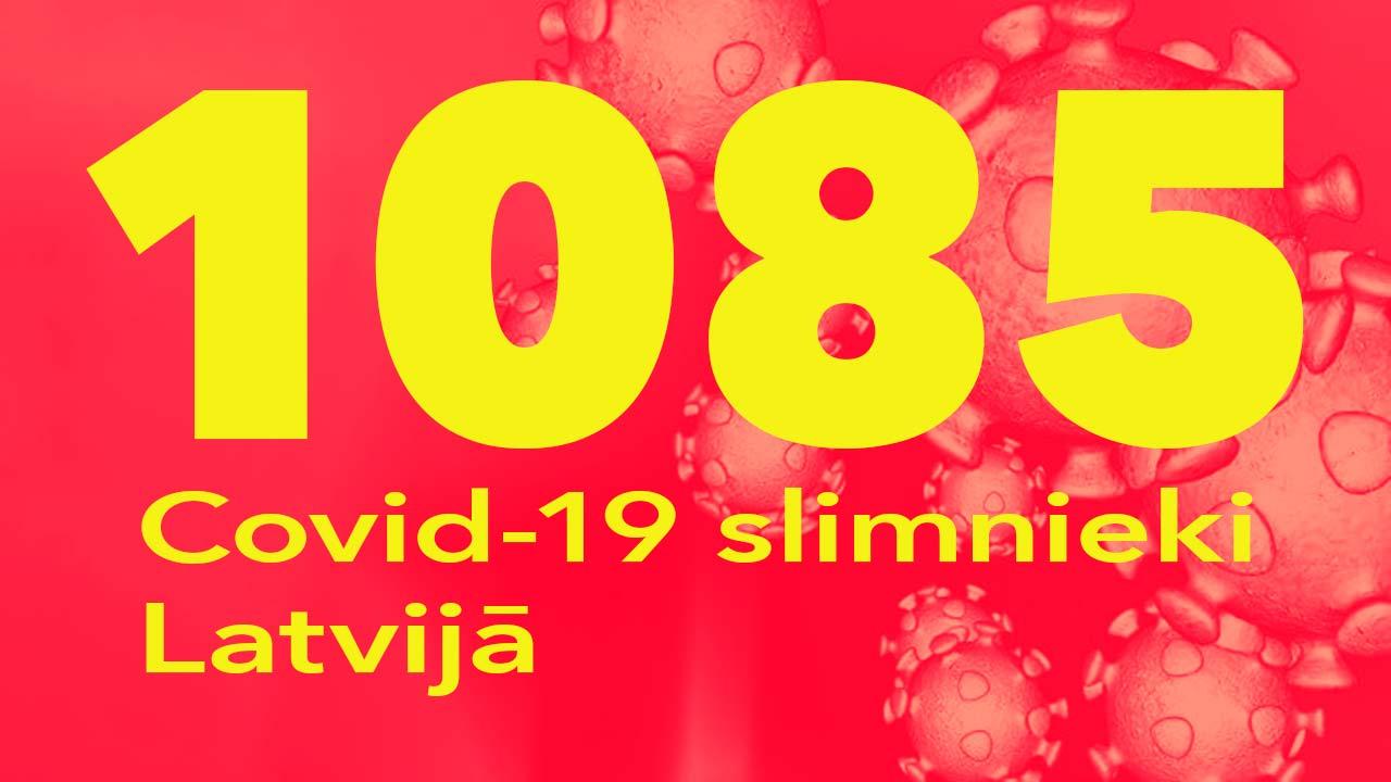 Koronavīrusa saslimušo skaits Latvijā 05.06.2020.