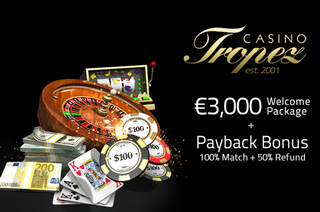 Tropez Casino Screen