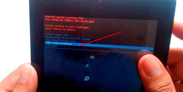 Acer Iconia Tab B1 Factory Hard Reset