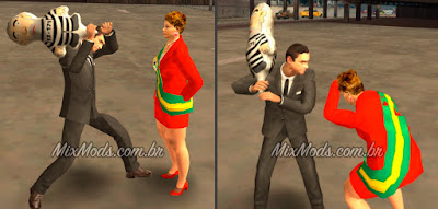 mod skin do Bolsonaro, Dilma e boneco pixuleco para GTA SA