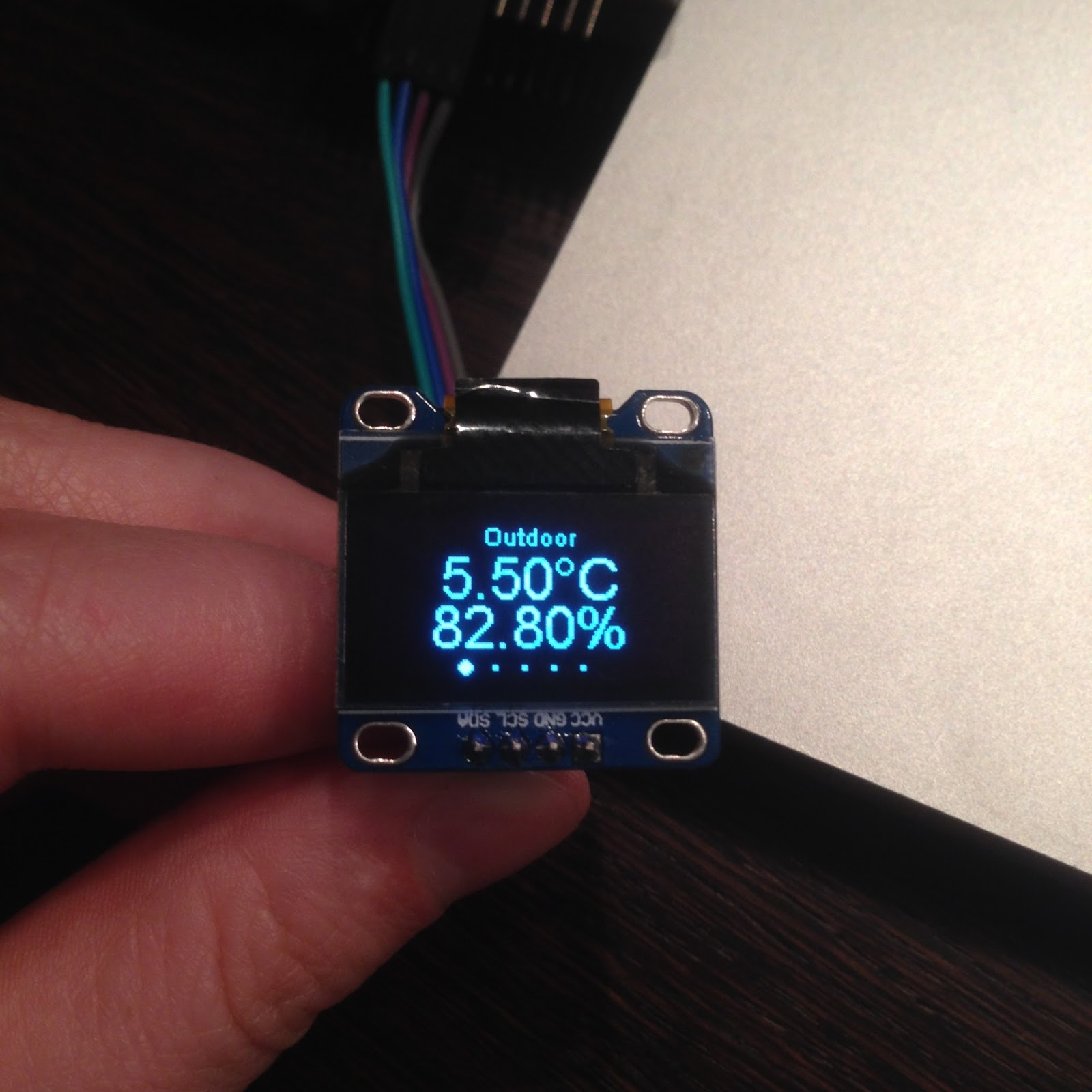 ESP8266 OLED display library release - Squix - TechBlog