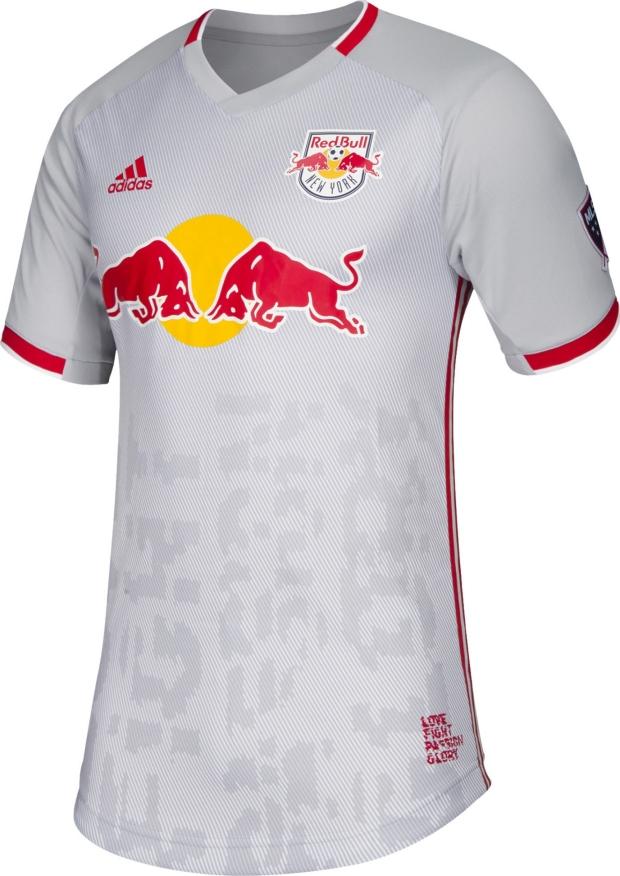 Adidas lança a nova camisa titular do New York Red Bulls - Show de ... 92296bc8e55d1