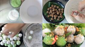 สูตรสาคูไส้หมู ทำง่ายๆกินเองกับครอบครัว