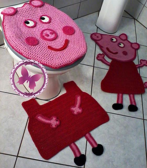 Jogo de Banheiro - Peppa Pig