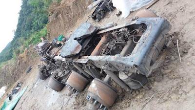 Policia Civil localiza desmanche clandestino de caminhões em Jacupiranga