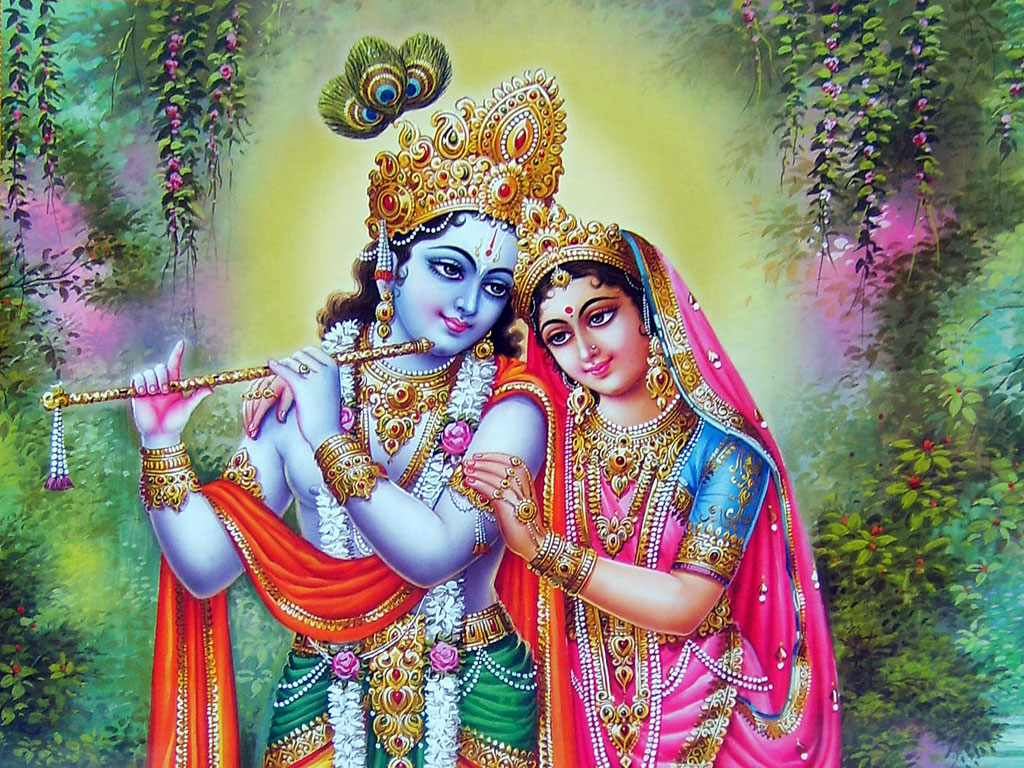 FREE God Wallpaper: Radha Krishna Animated Wallpaper