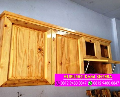 Jual kitchen set kayu jati belanda ciledug for Kitchen set kayu jati belanda