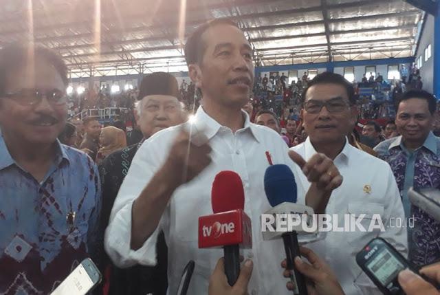 Ini Jawaban Jokowi Atas Kritikan Amien Rais Soal Tanah