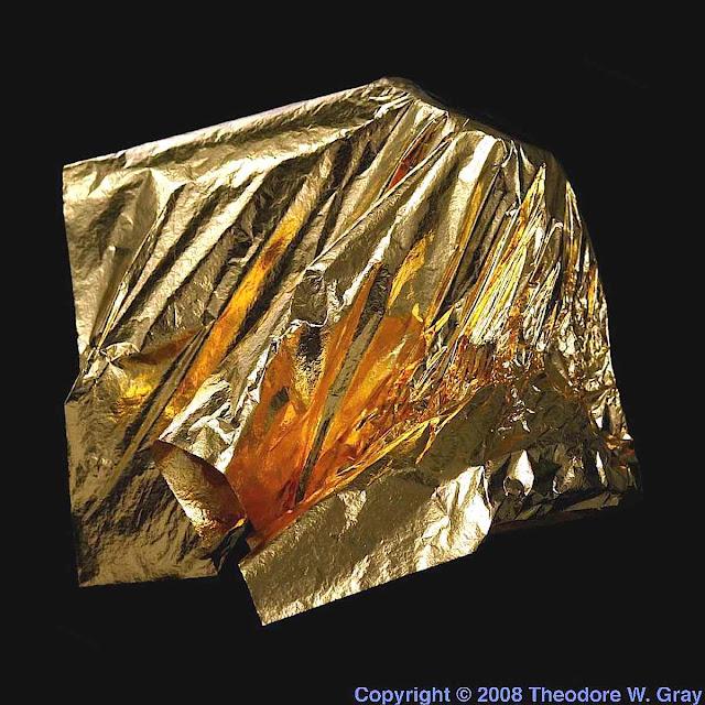 photo of gold leaf
