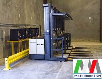 Metallmont srl montaggi industriali protezioni per for Magazzini mobili