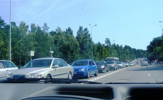 Automobilių kamštis