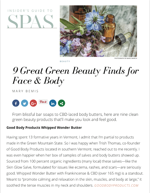 Insider's Guide SPAS - Good Body Products