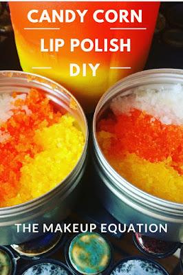 Candy Corn Lip Polish DIY