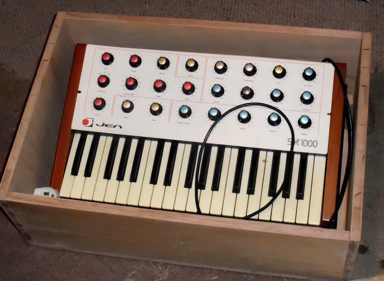 MATRIXSYNTH: JEN SX1000 Synthetone Vintage Analogue Synthesizer w