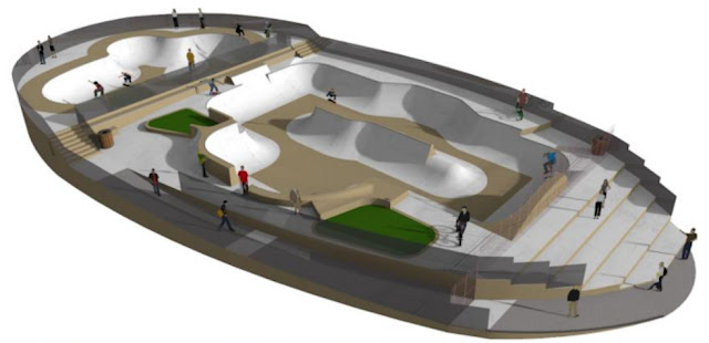 skatepark Nanterre nouveau