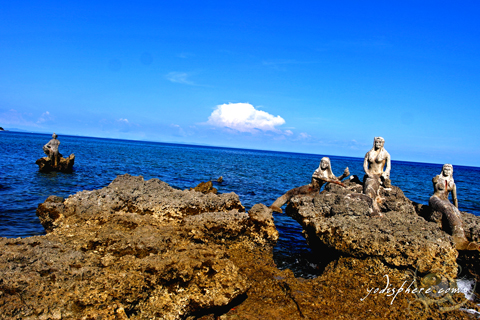 Mermaids at the Torrijos Marinduque Freedom Park