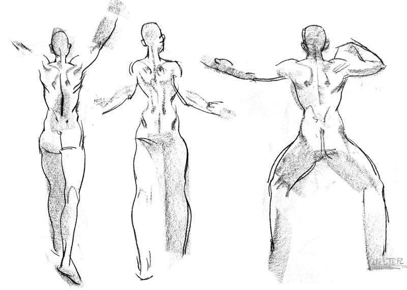 Ben Jelter Art: Yoga! Yoga!