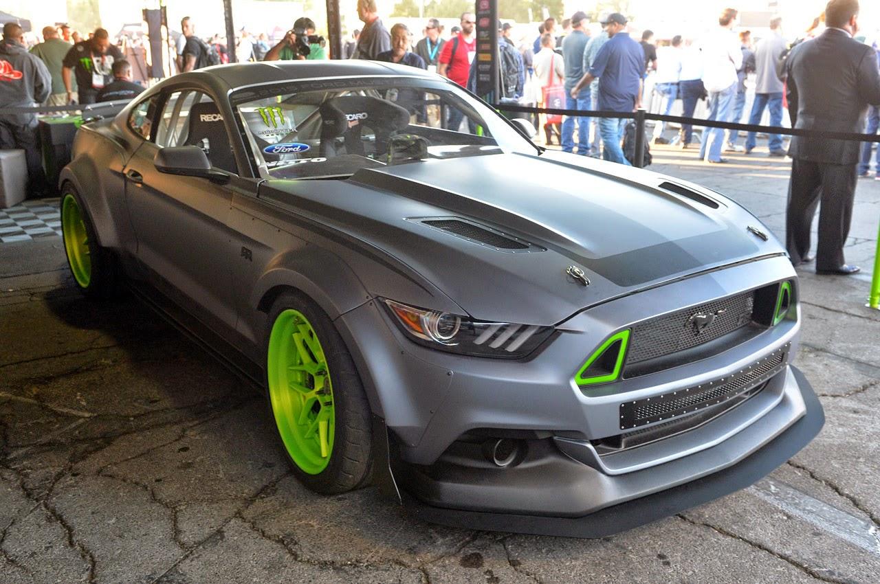 Ford Mustang RTR Vaughn Gittin Jr