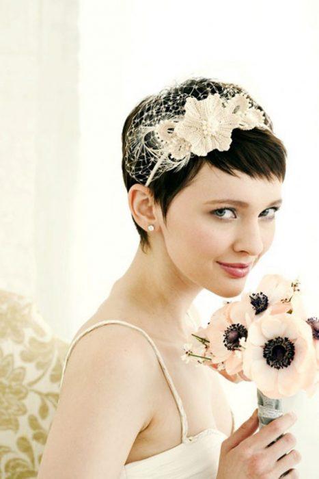 peinados de novia y tocados