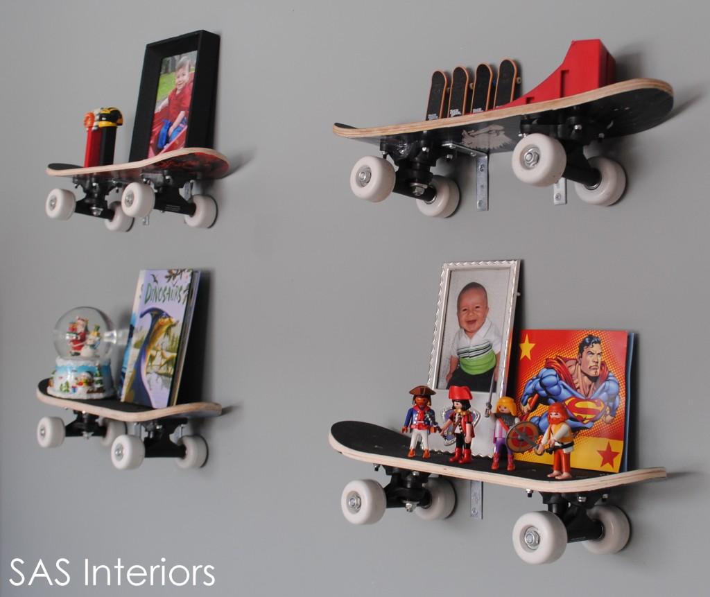 Diy Skateboard Design: Σπίτι και κήπος διακόσμηση