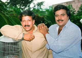 Vishnuvardhan with Ambharish