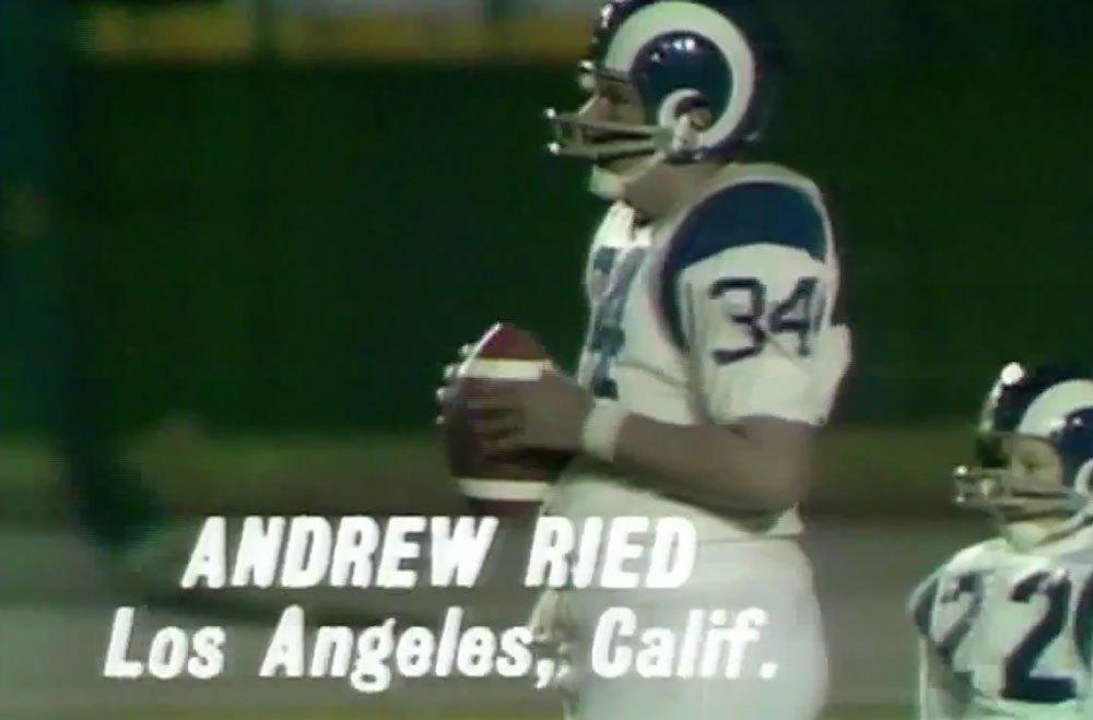 andy reid punt pass kick - 13 Year Old Andy Reid Was Freakin