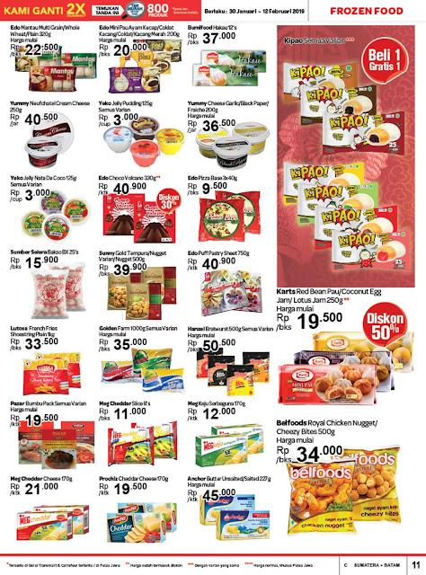Katalog Promo Transmart Carrefour Sumatera Edisi  30 Januari Sampai 12 Februari 2019