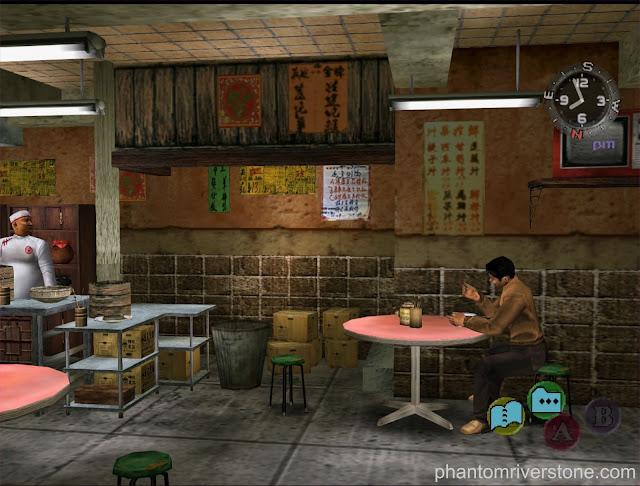 The interior of Man Mo Restaurant.