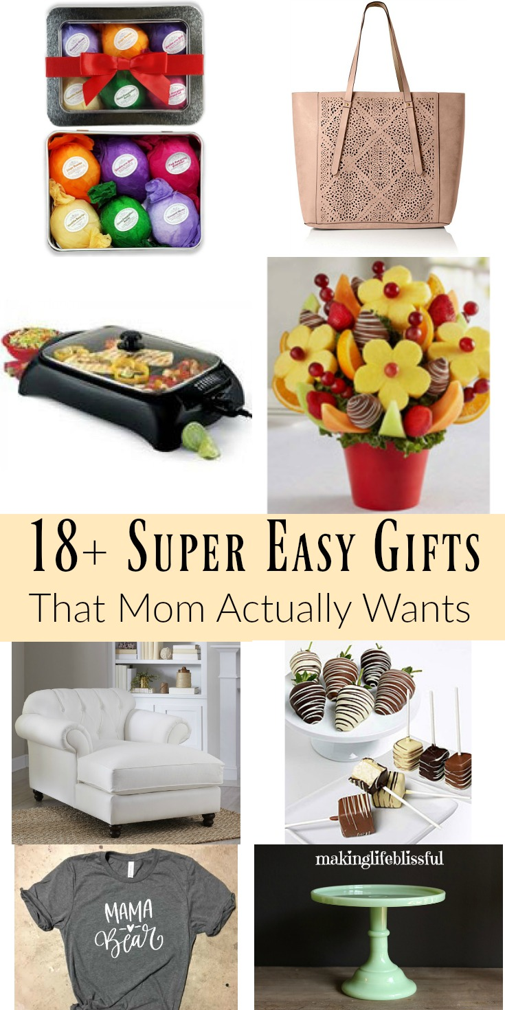 Super Easy Gifts That Mom Actually Wants Making Life