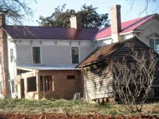 Buying new shingles for lower roofs on this Carolinas homestead