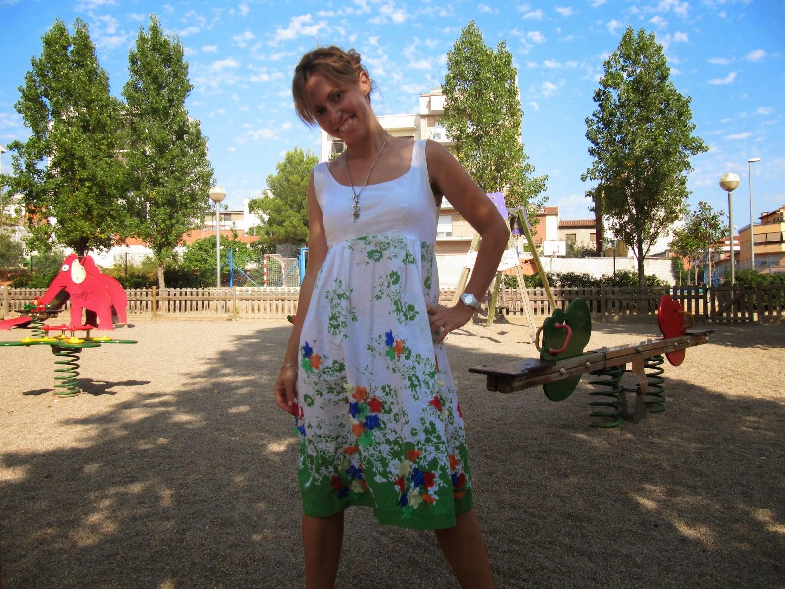 Vestido de flores de mi madre
