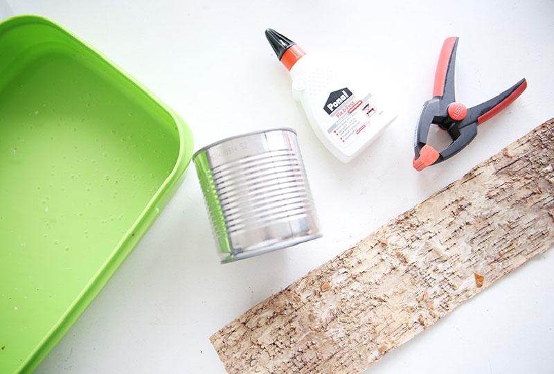 Fai da te e riciclo portavasi con corteccia blog di arredamento e interni dettagli home decor - Portavasi in legno fai da te ...