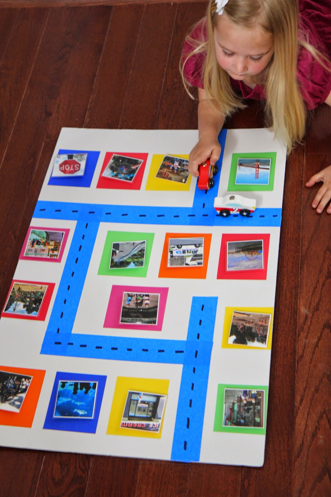 Toddler Approved Build An Around Town Photo Wall