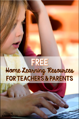 At home Free resources for distance learning.  School closures due to COVID-19