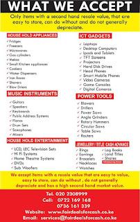 Fairdeals item goods loans nairobi