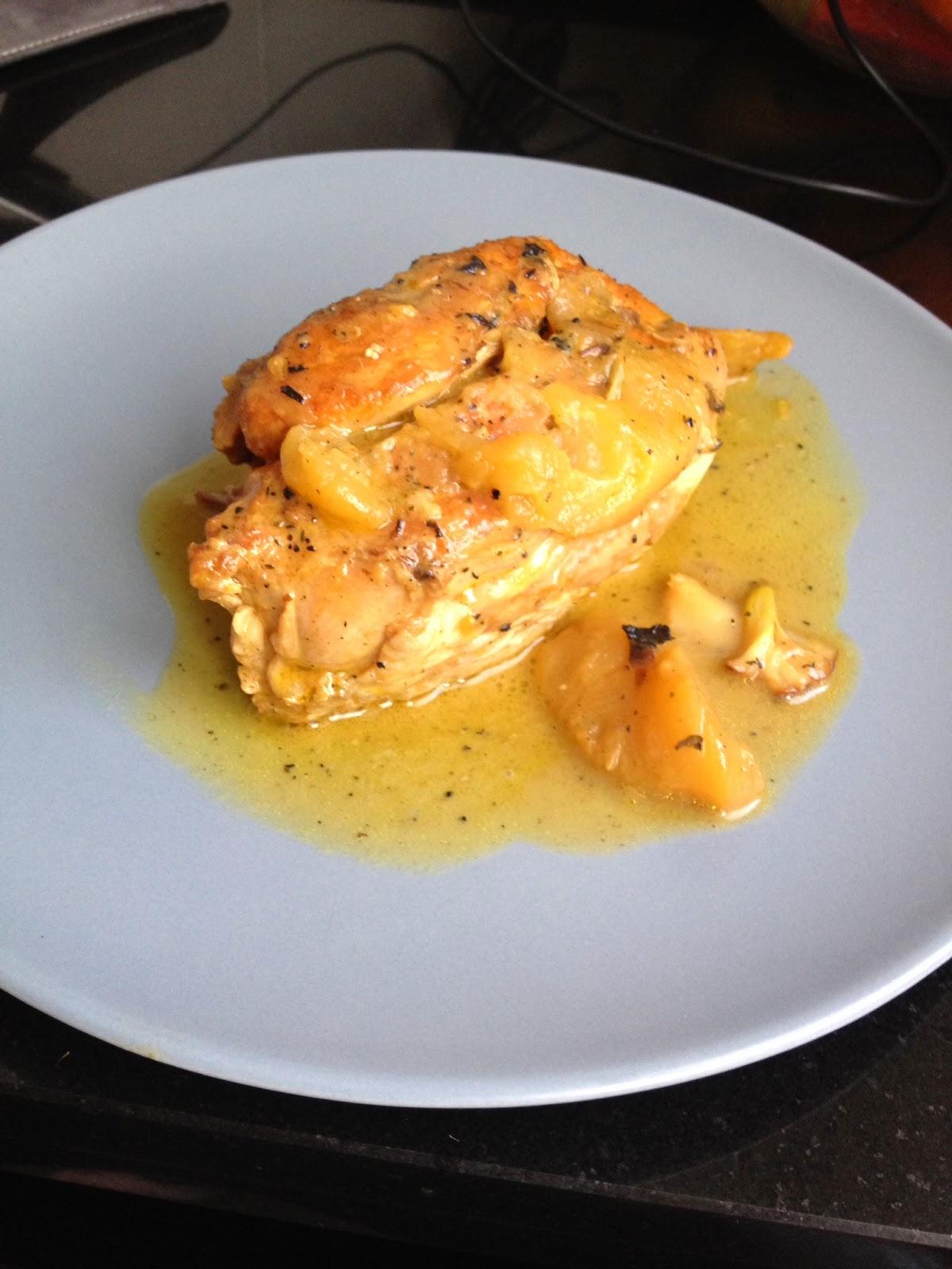 Cocina con rachel pollo a la naranja con manzana - Racholas cocina ...