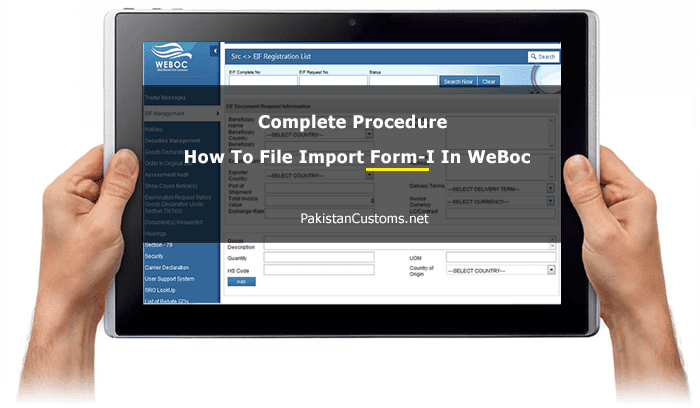 Complete-procedure -How-to-file-Form-I-In-WeBoc