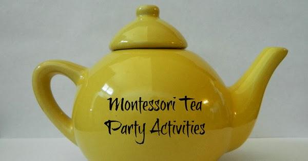 Montessori Tea Party And Kitchen Practical Life Activities