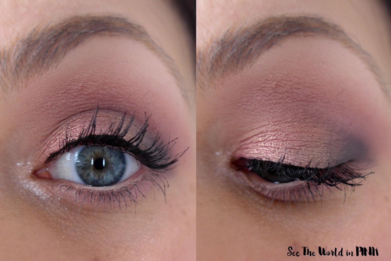 Too Faced White Peach Eye Shadow Palette Swatches 3 Looks And