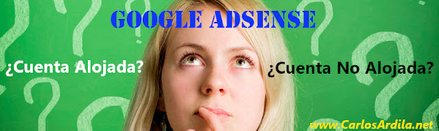 Cuenta Alojada Google AdSense