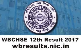 West Bengal Inter 2nd year Result 2017