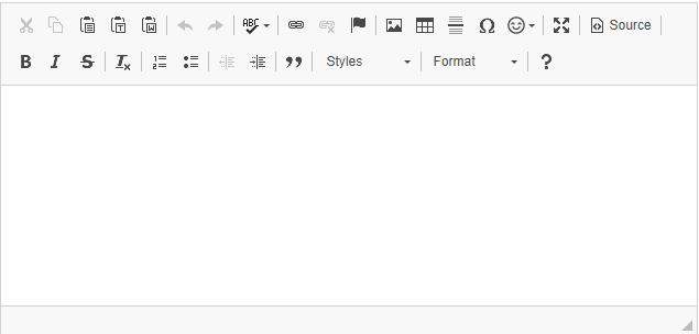 JavaScript rich text editor