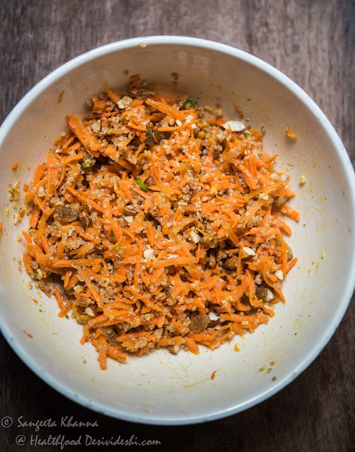 quinoa carrot salad