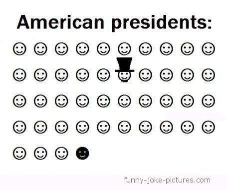 American Presidents Cartoon ~ Funny Joke Pictures
